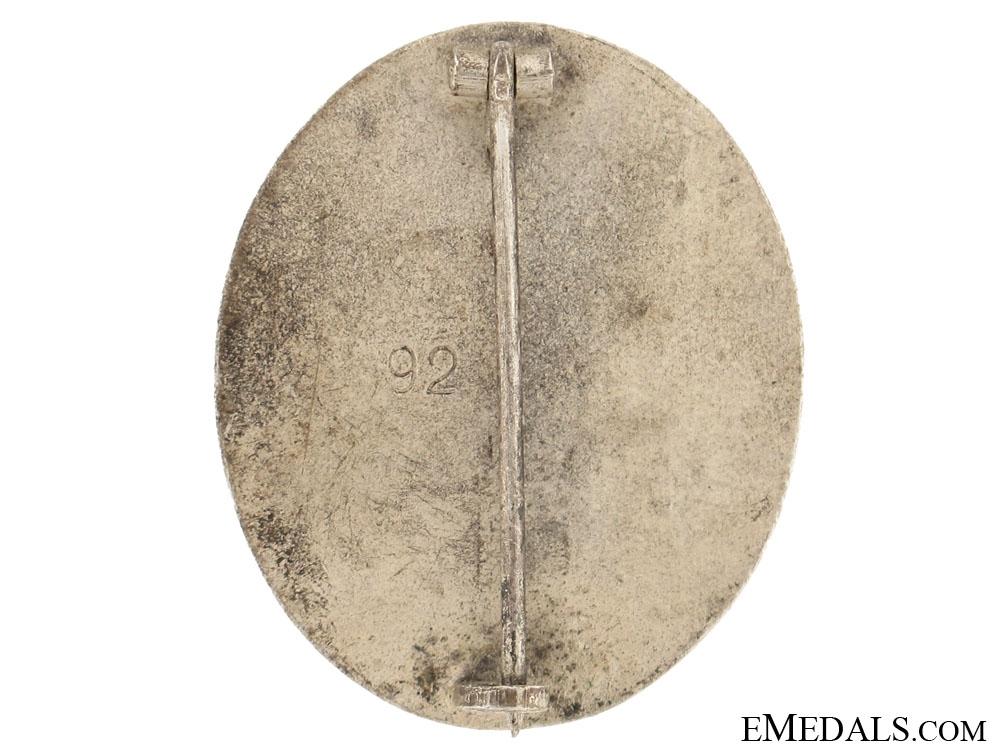 Wound Badge  Silver Grade