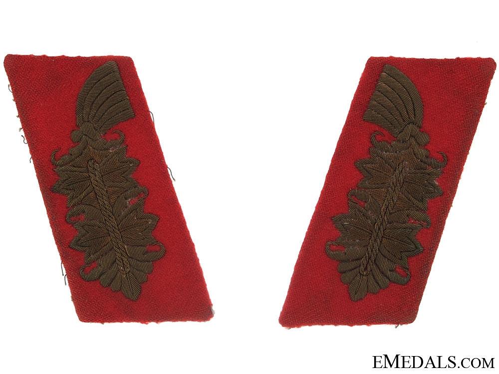 Shoulder Boards of Generalmajor Heinrich Gde