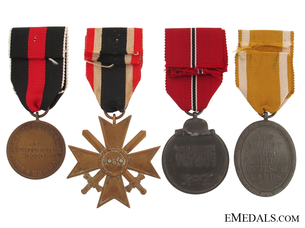Lot of Four Awards