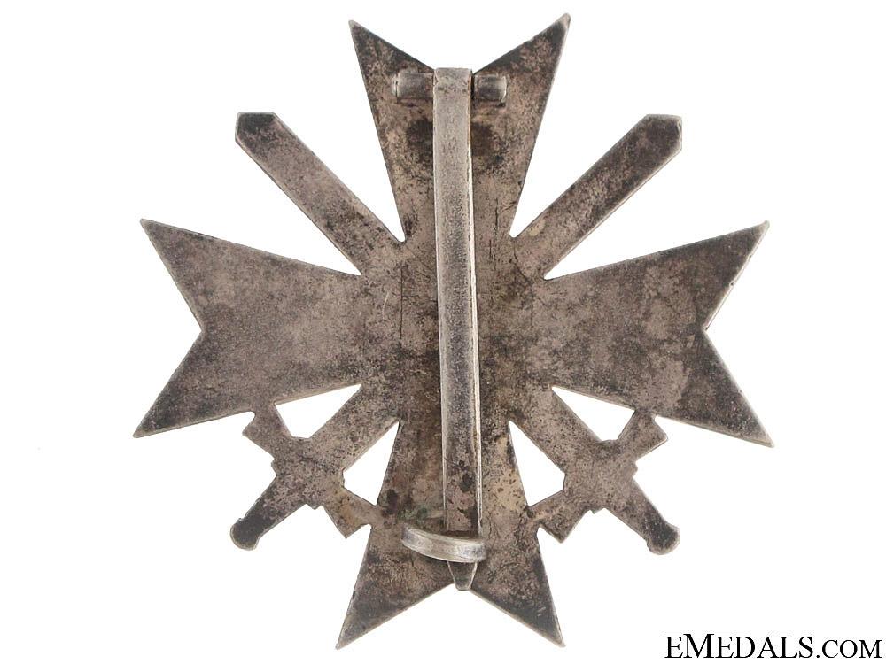 War Merit Cross 1St. Cl. w/Swords – Tombac
