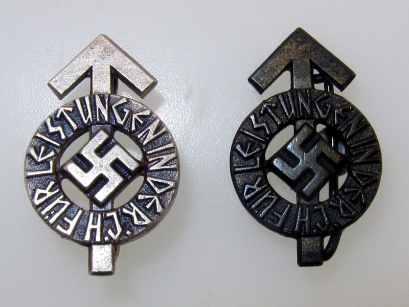 Miniature HJ Proficiency Badges
