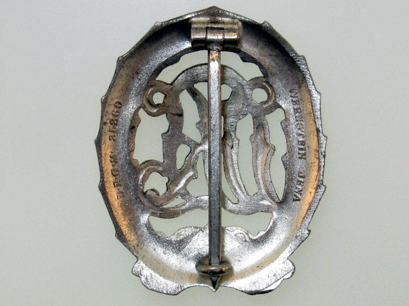 DRL Badge Silver Grade