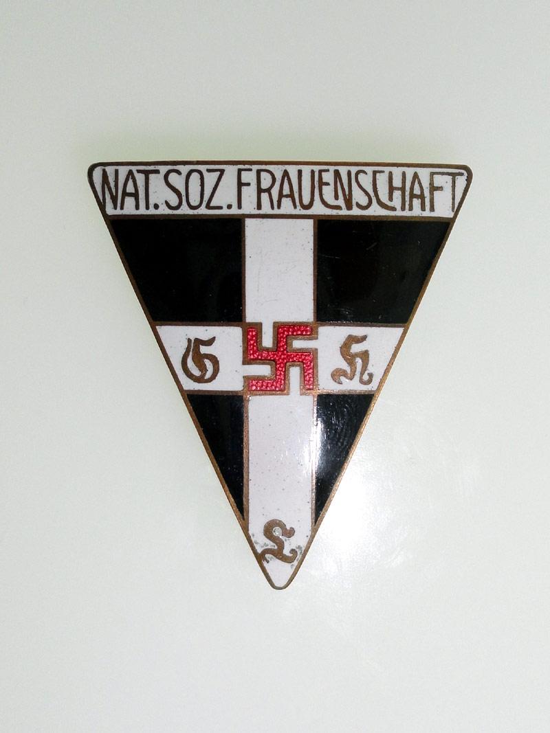 Large N.S. Frauenschaft Badge