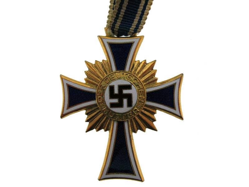 Mother's Cross in Gold Grade
