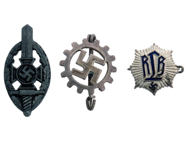 Lot of Three Pins