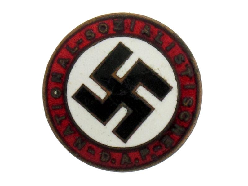 Early NSDAP Members Badge