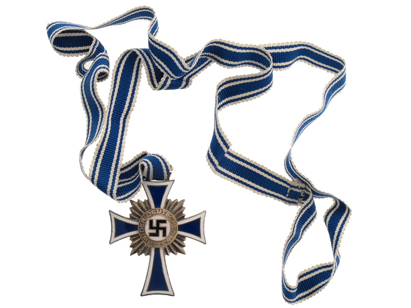 Mother's Cross, Silver Grade.