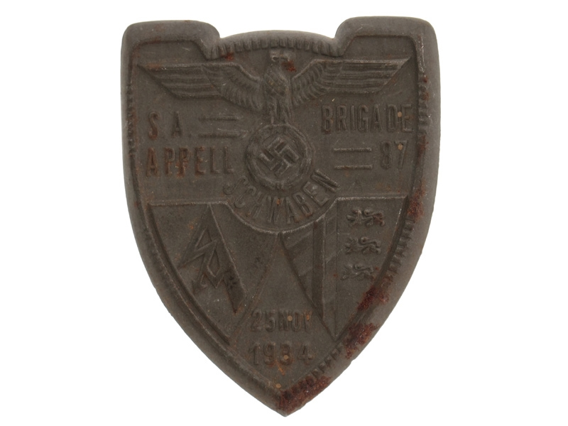 SA Appell Brigade Day Badge