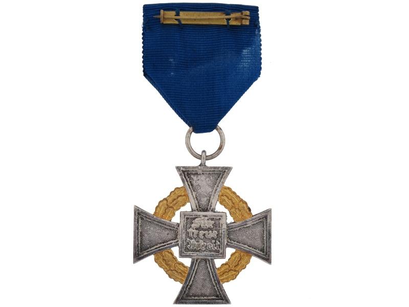 Faithful Service Cross - First Class