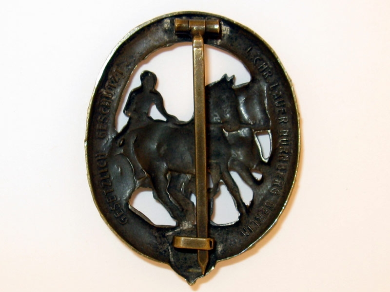 German Driver's Badge