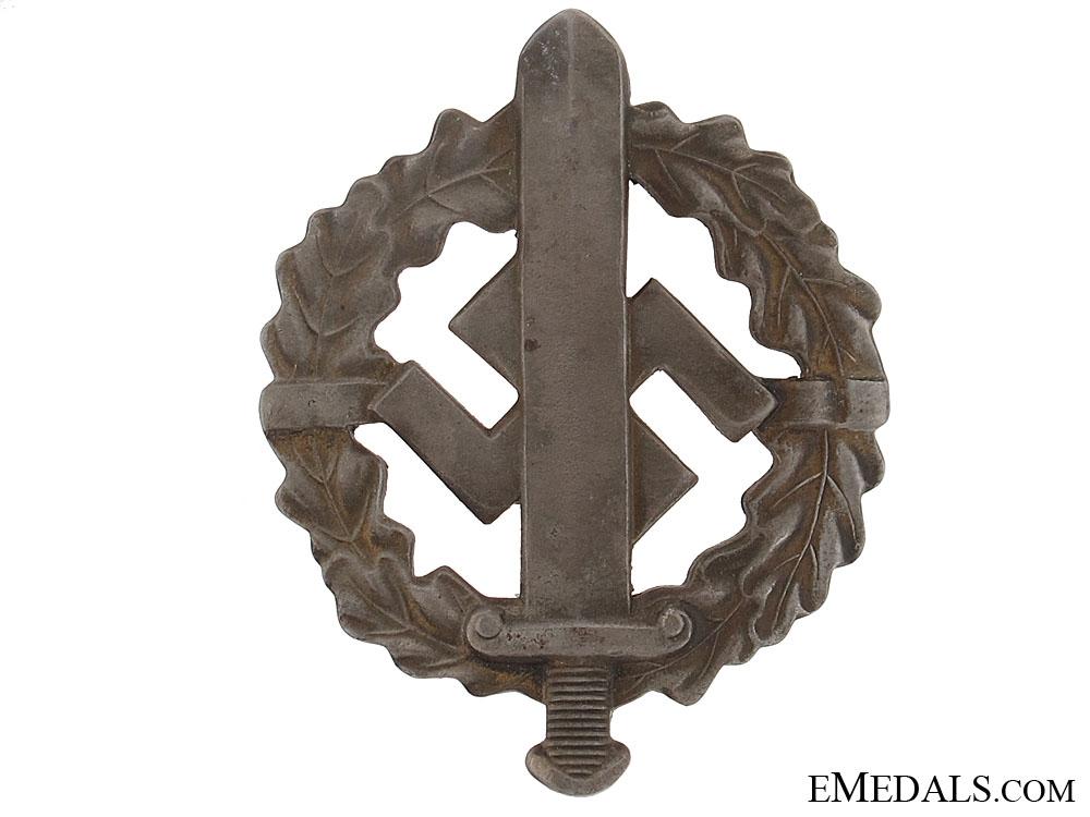 SA Defense Badge  Silver Grade