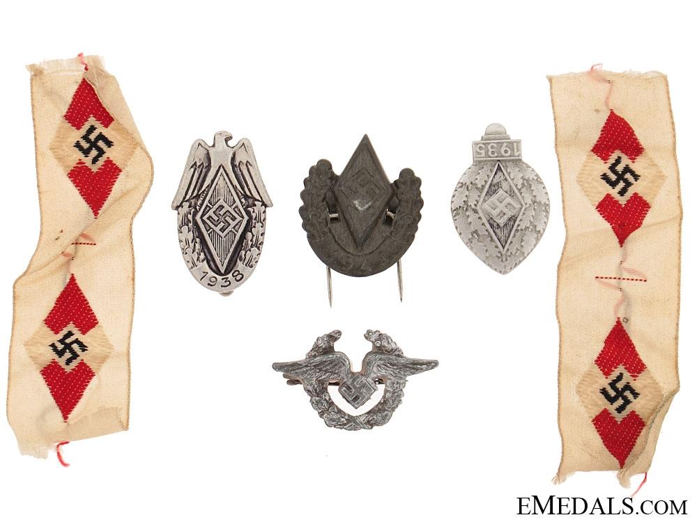 Six small HJ Items