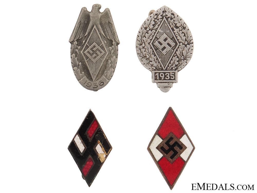 Four HJ Pins