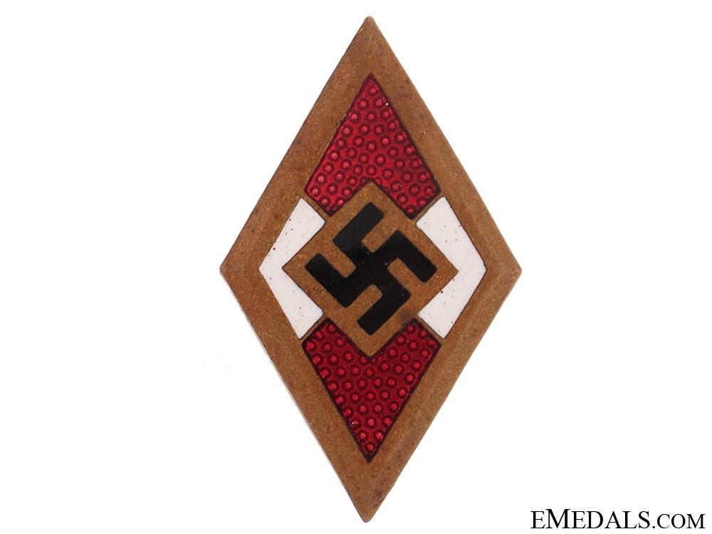 Golden HJ Badge