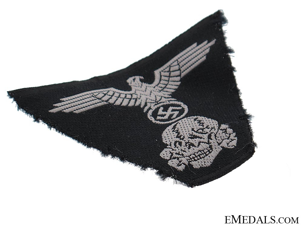 One Piece Insignia for SS Model 1943 Cap