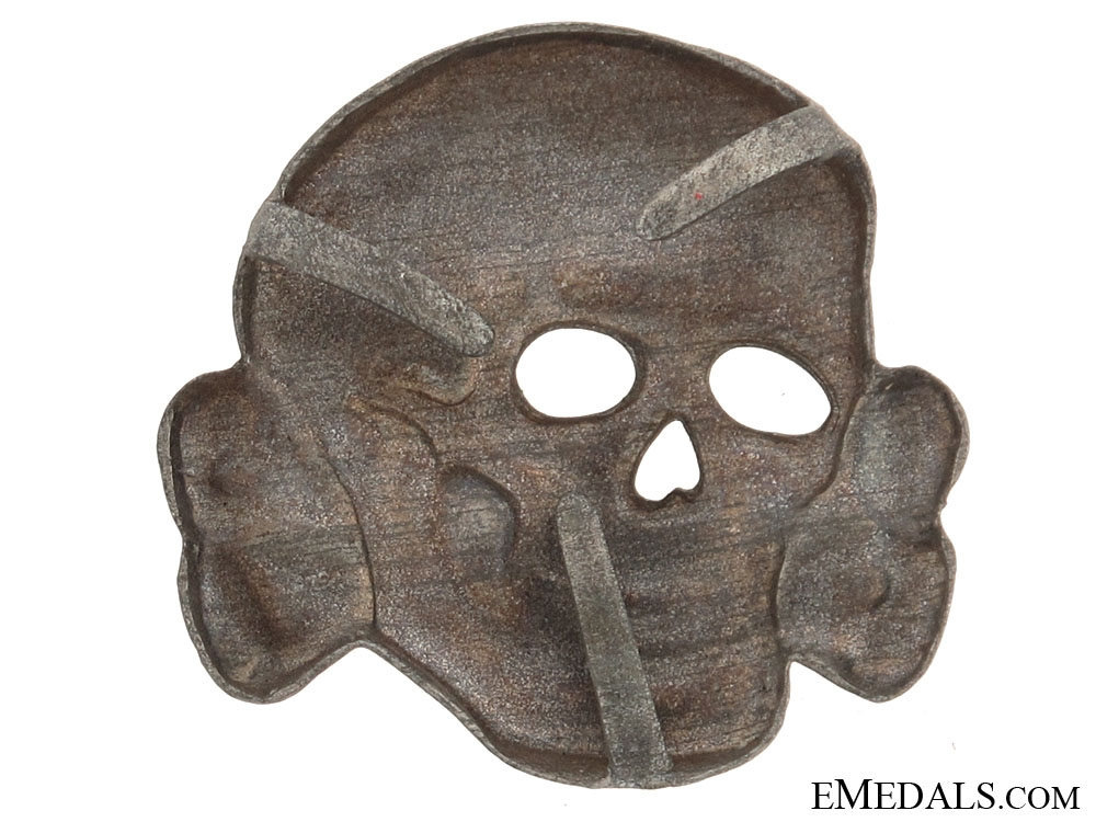 Totenkopf Deaths Head Insignia for SS Visor Cap