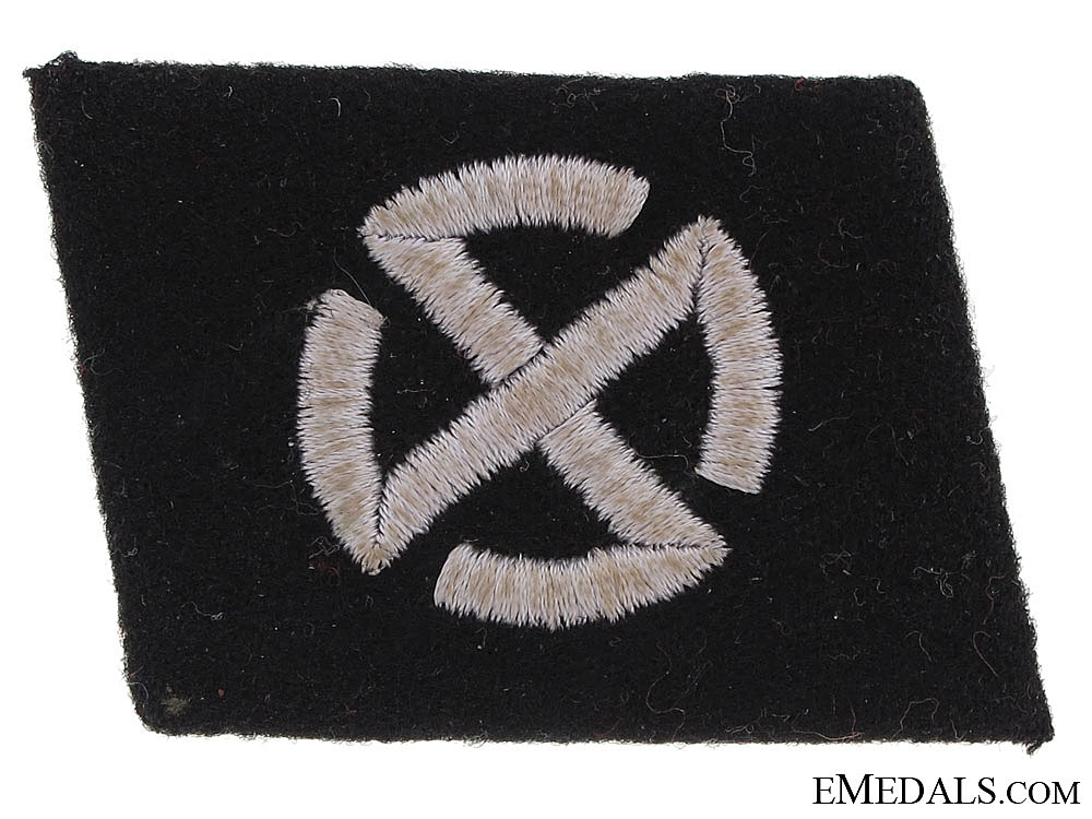 Collar Tab of the 11th. Panzer Grenadier Division Nordland