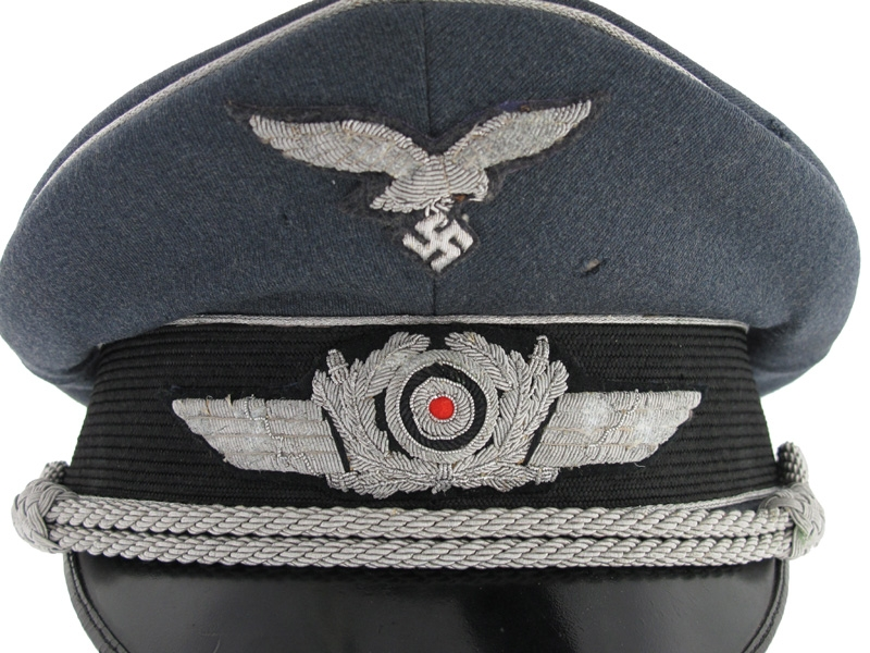 A Fine Officer's Visor