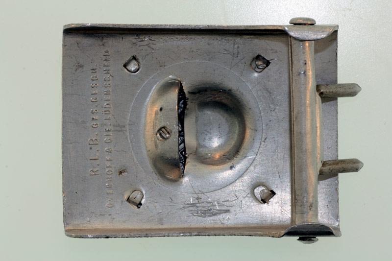Luftschutz Belt Buckle - 2nd Pattern