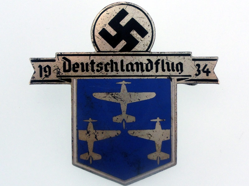 German Flight Day Badge 1934