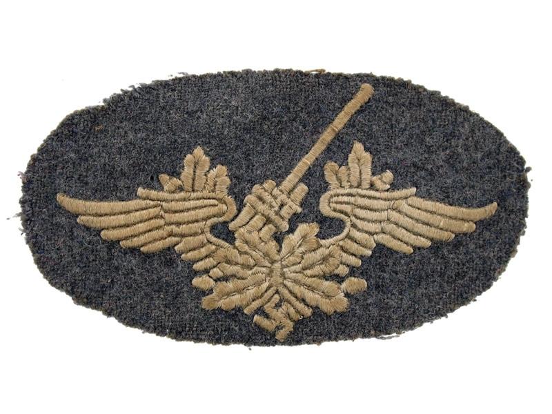 Anti-aircraft Cloth Badge