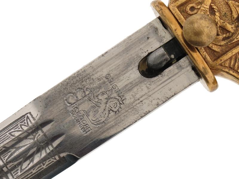 Naval Dagger by Carl Eickhorn