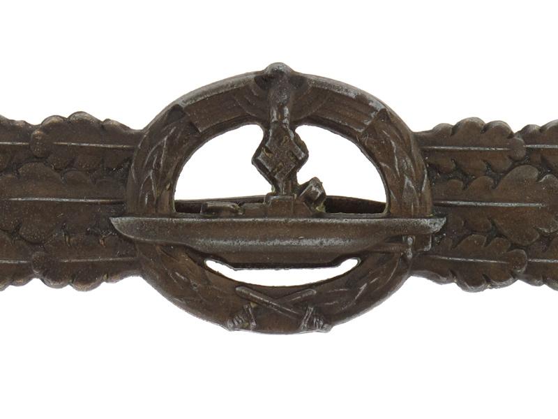 Boxed Submarine Clasp - Bronze