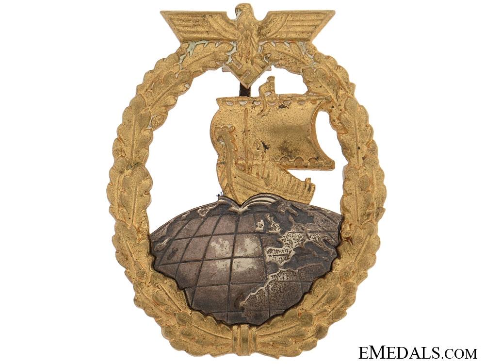 Naval Auxiliary Cruiser War Badge