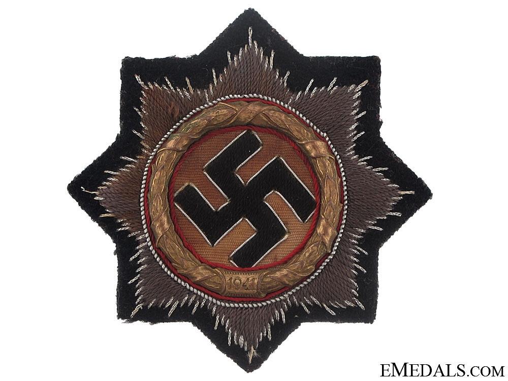 """A German Cross in """"Gold"""""""