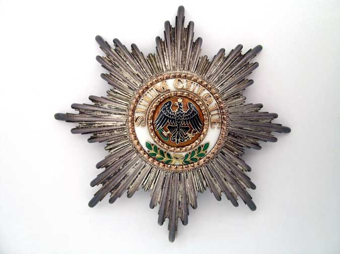 PRUSSIA, ORDER OF THE BLACK EAGLE