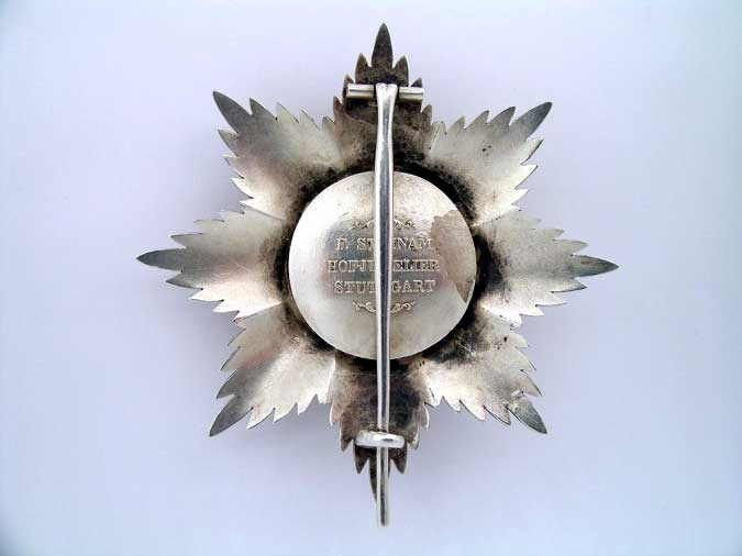 WURTTEMBERG, ORDER OF THE CROWN 1864-1918