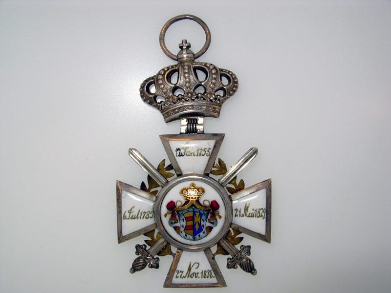 OLDENBURG, Order of Peter Friedrich Ludwig