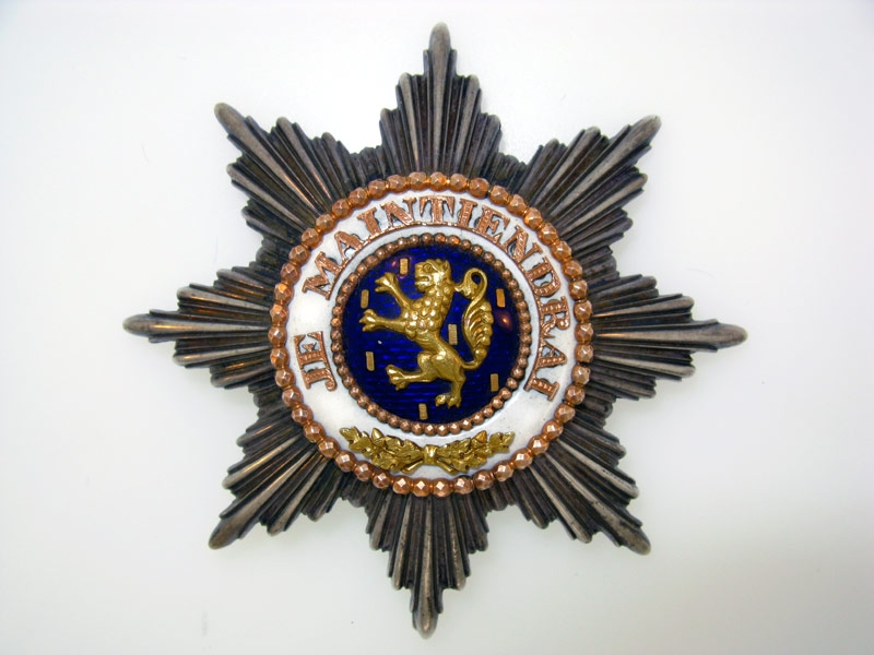 NASSAU, Order of the Golden Lion of the