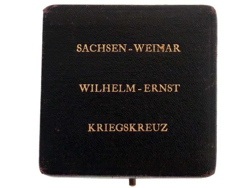 Saxe-Weimar, Wilhelm-Ernst War Cross 1915-18
