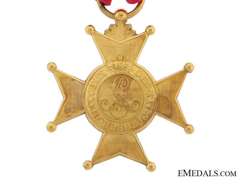 Schaumburg-Lippe, Golden Merit Cross 1869-1916