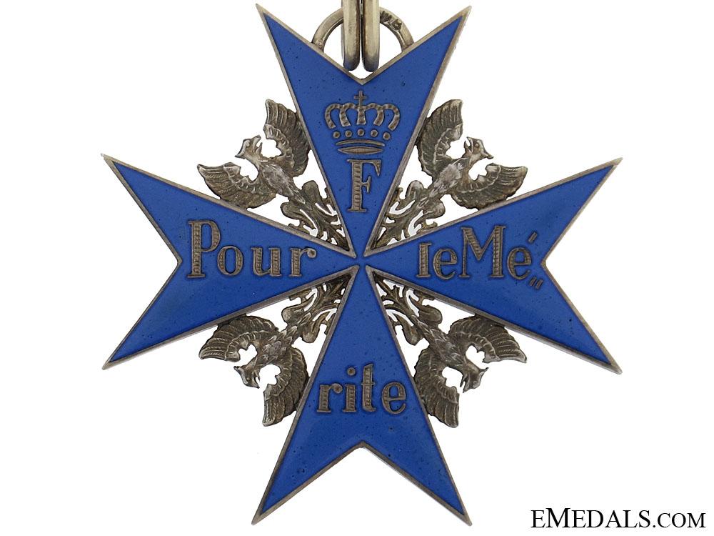 Order Pour-le-Merite - Rothe
