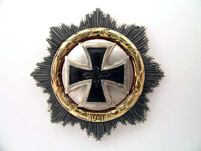 "GERMAN CROSS IN ""GOLD"""