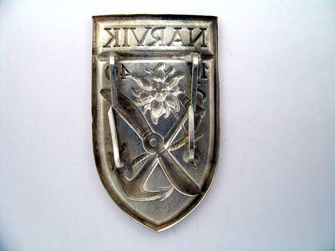NARVIK CAMPAIGN SHIELD – ARMY/LUFTWAFFE