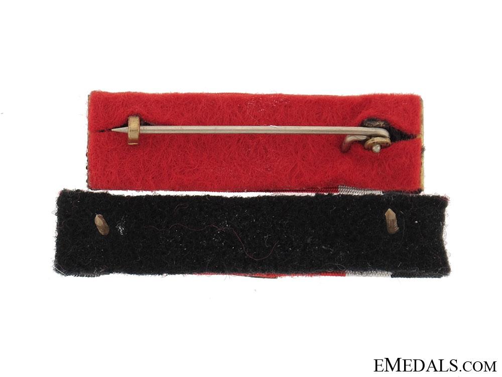 Two Knight's Cross Ribbon Bars