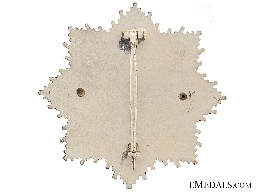 German Cross in Silver