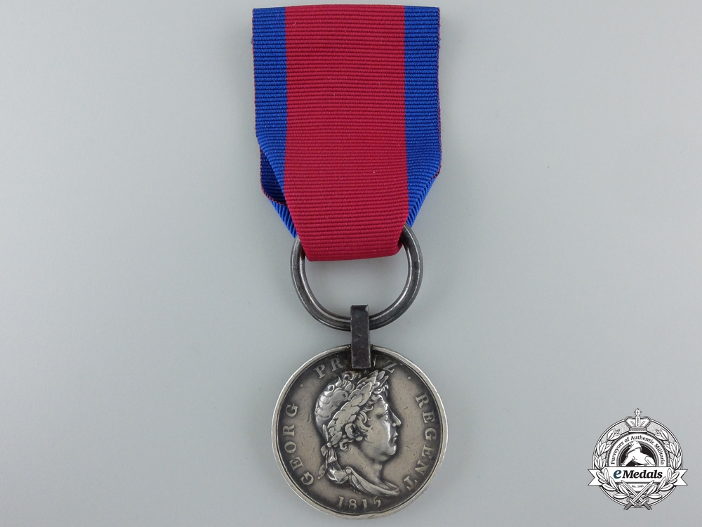 An 1815 Hannover Waterloo Medal to the Landwehr Bat. Osterour