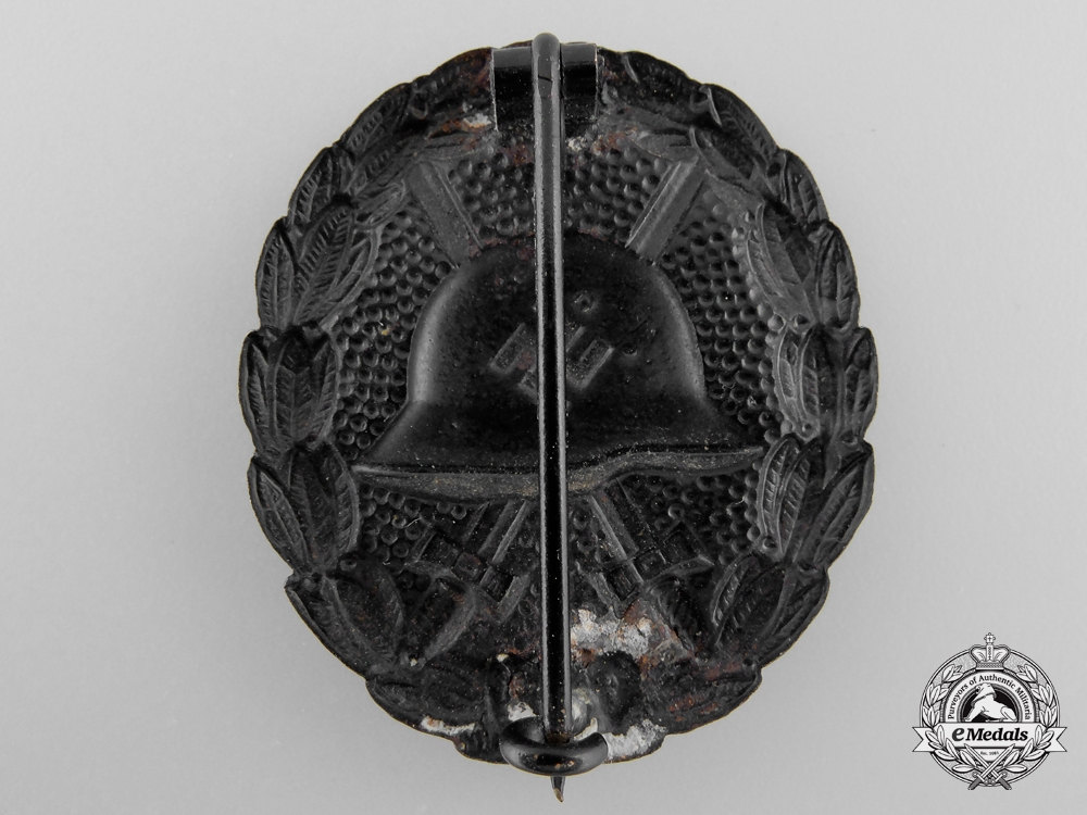 A Black Grade Wound Badge; Condor Legion Type