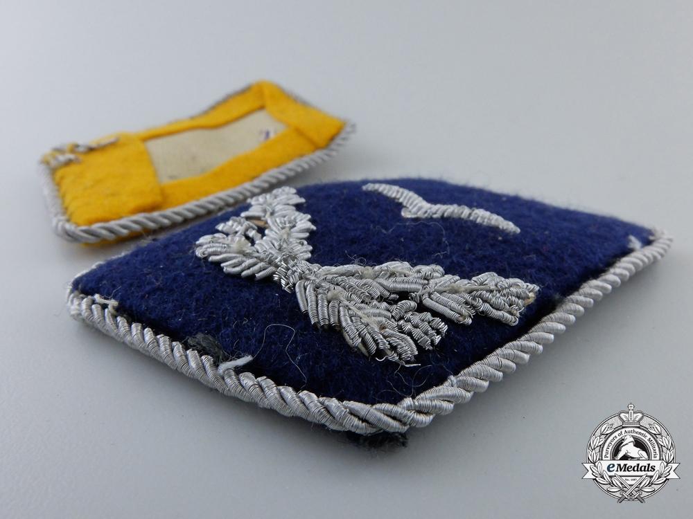 Four Single Luftwaffe Collar Tabs