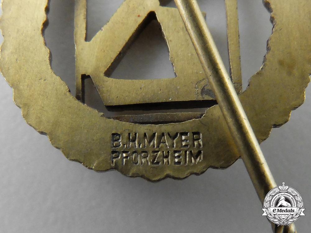 Germany. A Works Kiel (Deutsche Werke Kiel) Badge of Honour Stickpin