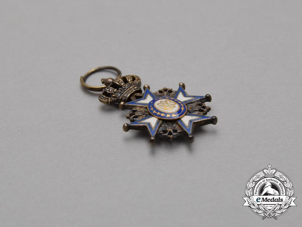 A Serbian Miniature Order of St. Sava, by Vinc Mayer, Vienna