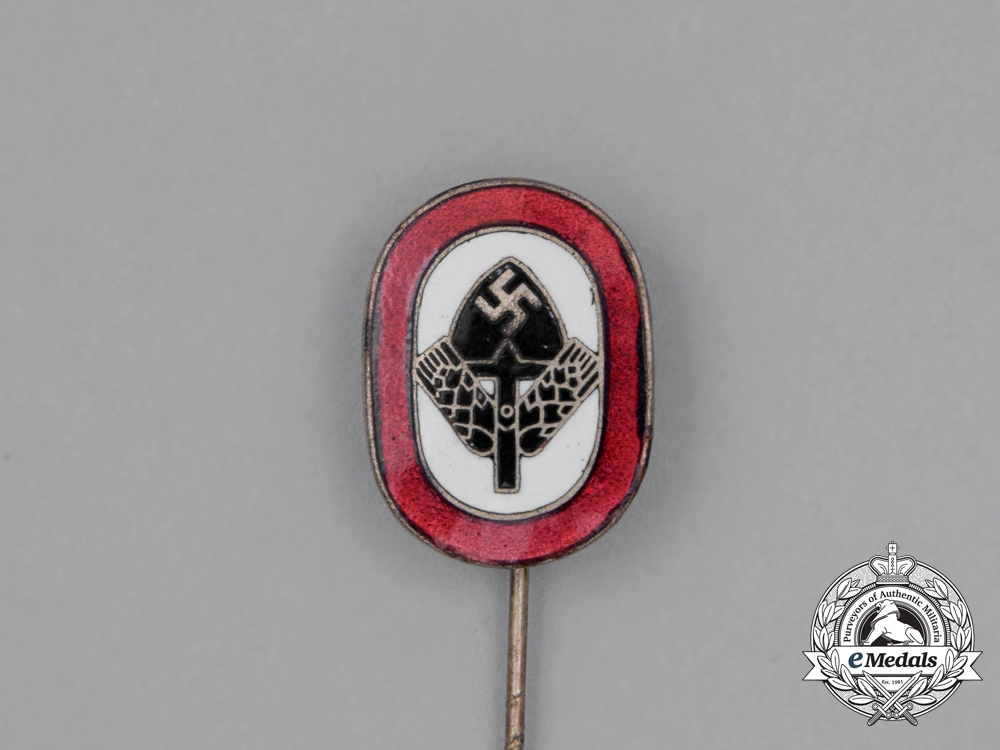 A RAD (National Labour Service) Membership Stickpin