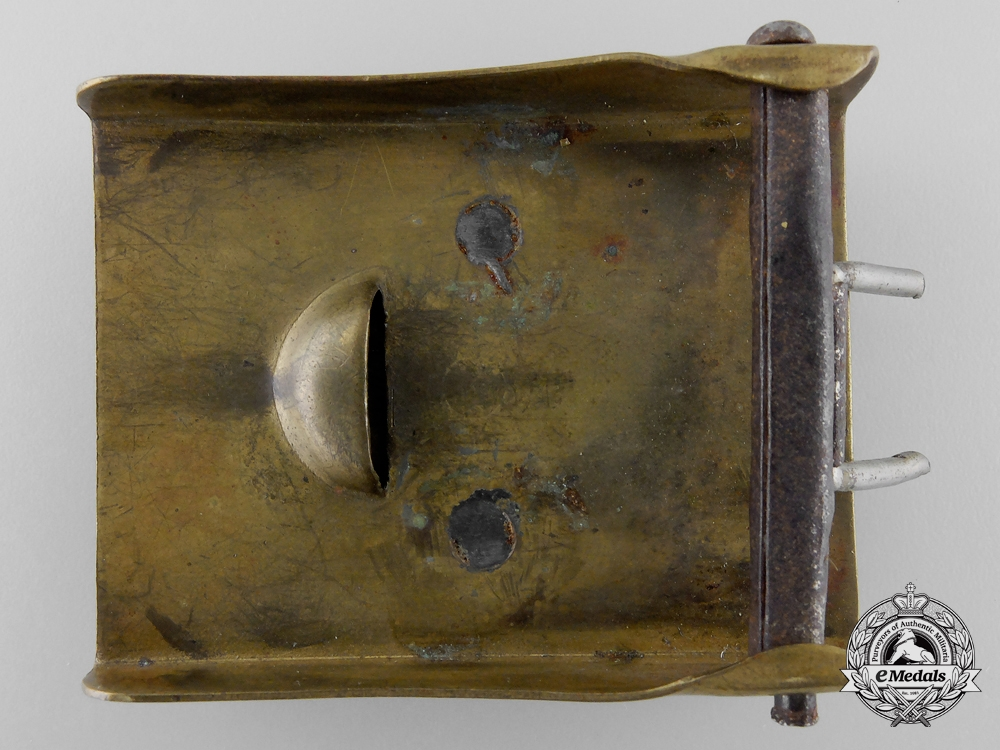 A Lippe-Detmold Fire Defence Enlisted Man's Belt Buckle