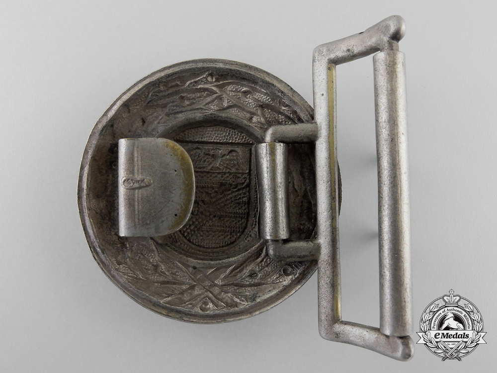 A Province of Saxony Fire Defence Officer's Belt Buckle
