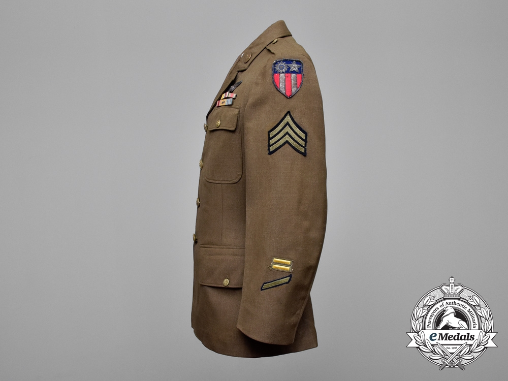 A Uniform Grouping Attributed to the 14th United States Army Air Forces; The Flying Tigers