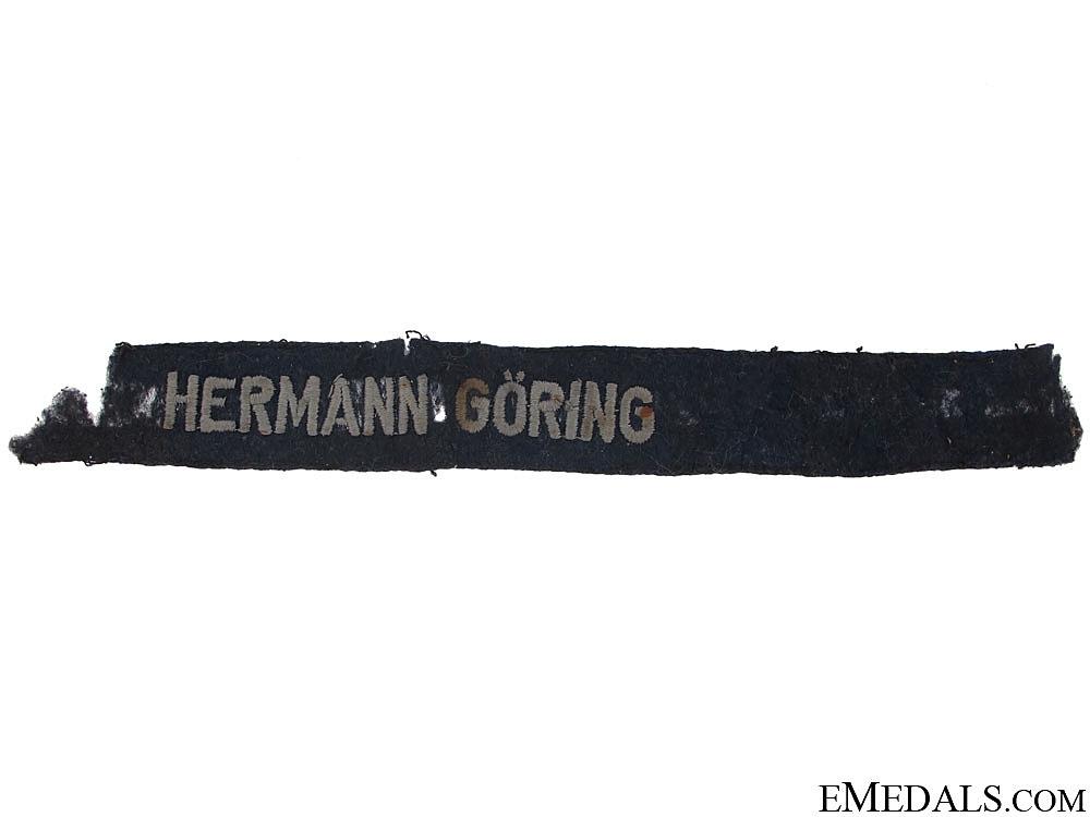 Hermann Gring Division Cufftitle